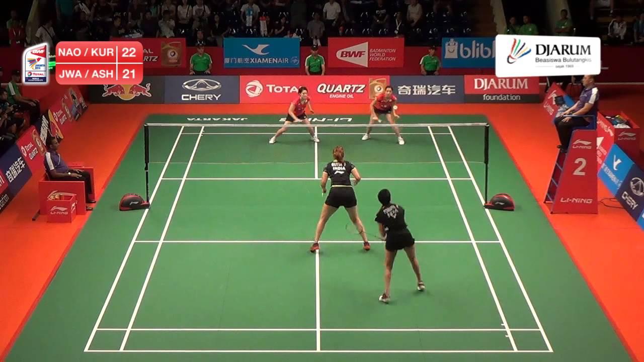 Jwala Gutta Ashwini Ponnappa India VS Naoko Fukuman Kurumi Yanao