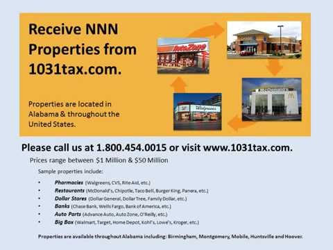 View NNN property in Alabama  NNN triple net lease property for investors & 1031 exchange
