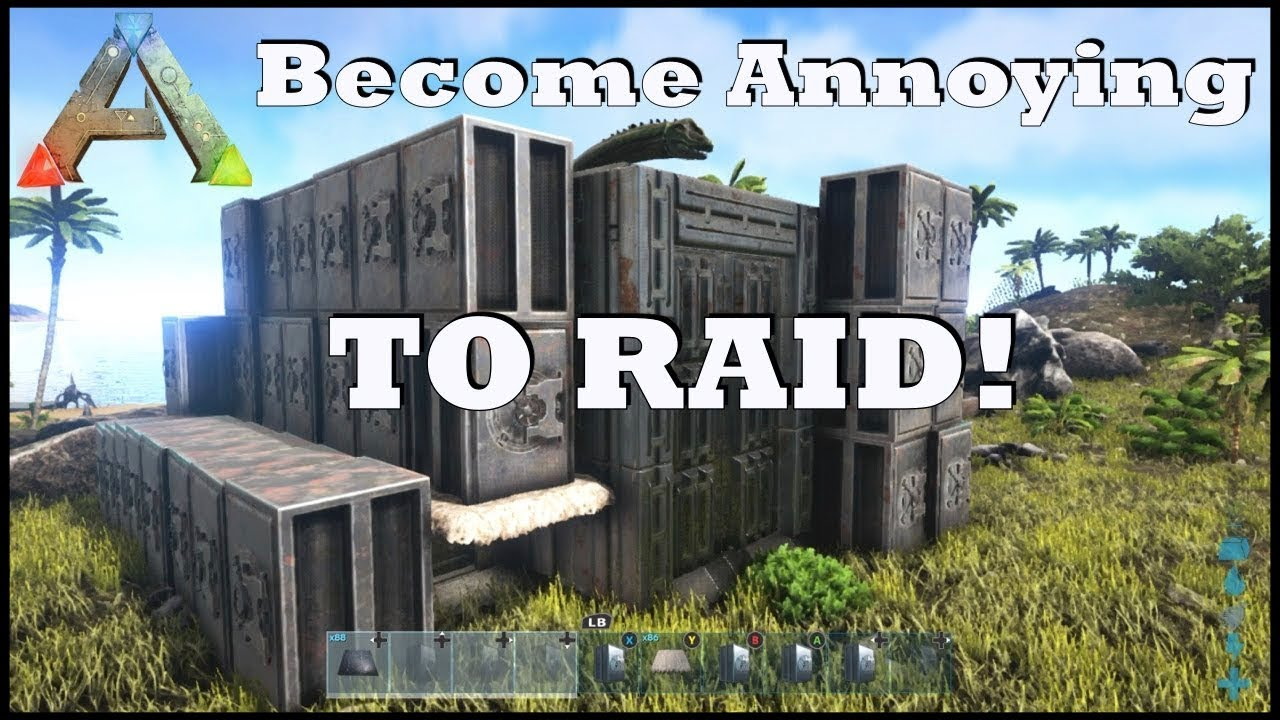 Ark se pvp base building tips tricks guide on for Home building tips and tricks