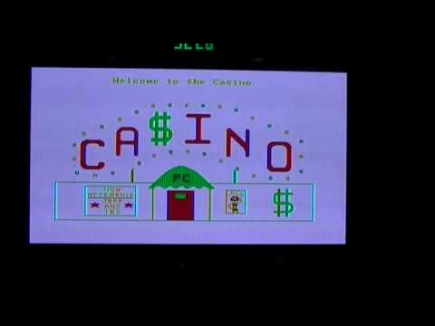 "IBM PC/XT - Hacking ""Casino Games"" From 1982"