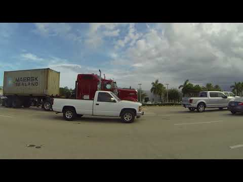 Wendy's, Riviera Beach, Palm Beach Gardens to Jupiter, Florida Traffic Jam, 4 August 2016 GP032341
