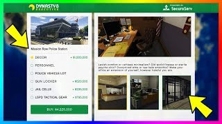 Buying & Owning Police Stations In GTA Online - NEW Information On Police/Cop Missions For Next DLC!
