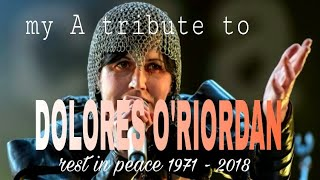 A tribute to Dolores O'RIORDAN + R.I.P 1971 - 2018 ( Zombie - The Cranberries )