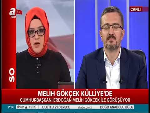 Öğretim Üyemiz Burhanettin Duran, A Haber,