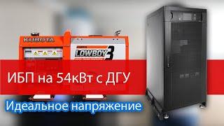 Трехфазный бесперебойник для всего дома на 54кВт и генератор с автозапуском