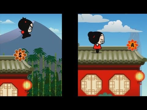 Pucca Jam Flash Game (All Pucca & Garu Levels)
