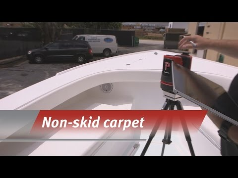 Templating for non-skid carpeting
