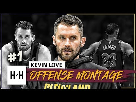 Kevin Love Full Offense Highlights 2017-2018 Season (Part 1) - SIGNS EXTENSION WITH CAVS!
