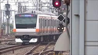 八王子駅で電車をとってみた