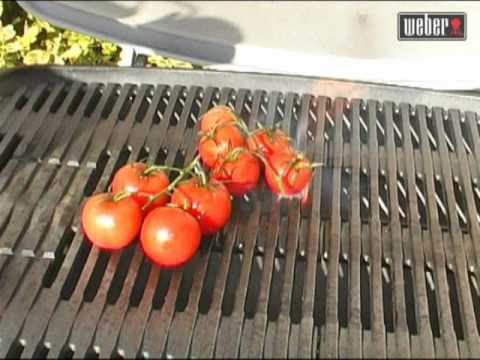 Recette tomates grill es sur barbecue weber q300 youtube - Recettes barbecue weber gaz ...