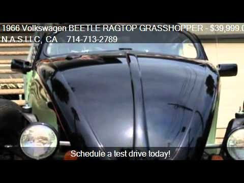 1966 Volkswagen BEETLE RAGTOP GRASSHOPPER CUSTOM-HOT ROD - f