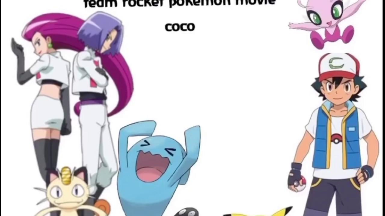 Pokemon prediction team ash and team rocket movie coco ...