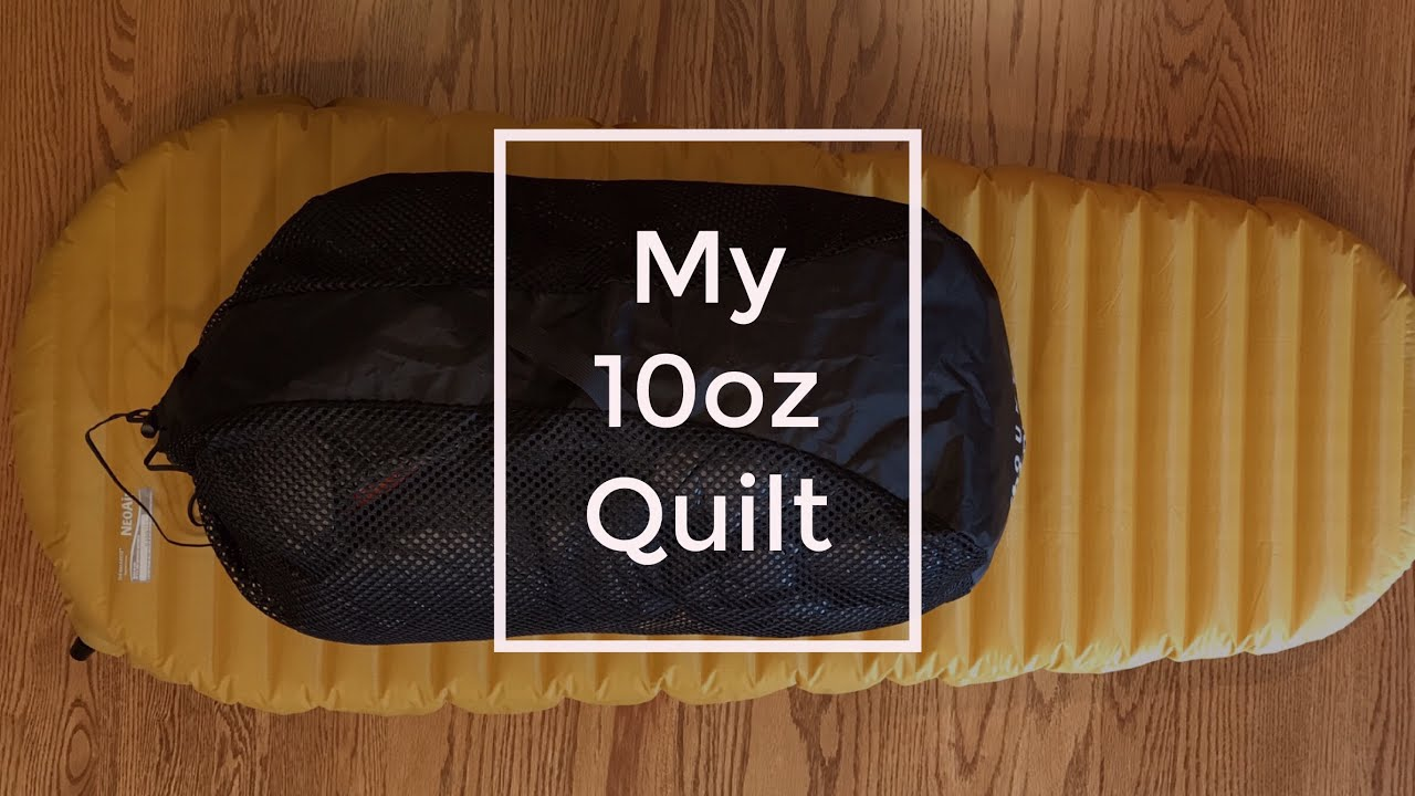 My ultralight quilt for my FKT