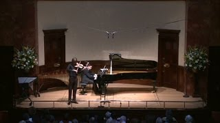 L. Berkeley Elegy and Toccata performed by Roberts Balanas and Andrew Gallacher