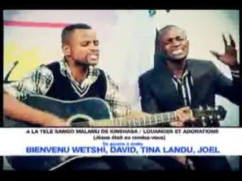 Bienvenu Wetshi. Merci seigneur à la télé sango malamu de Kinshasa