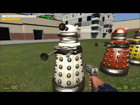 Dalek NPC's Pack (Garry's Mod)