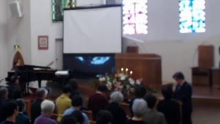 2018年12月16日聖日礼拝(グレース大聖堂)