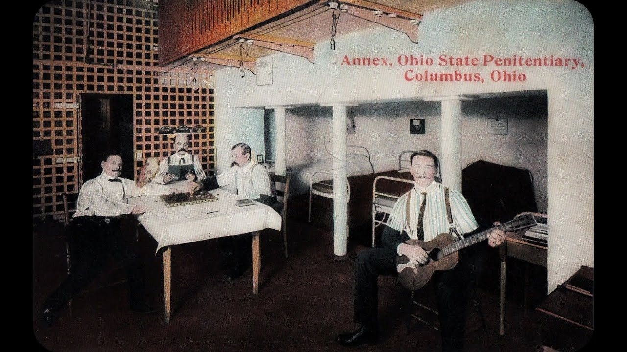Vintage Scenes of Ohio State Penetentiary Columbus Ohio