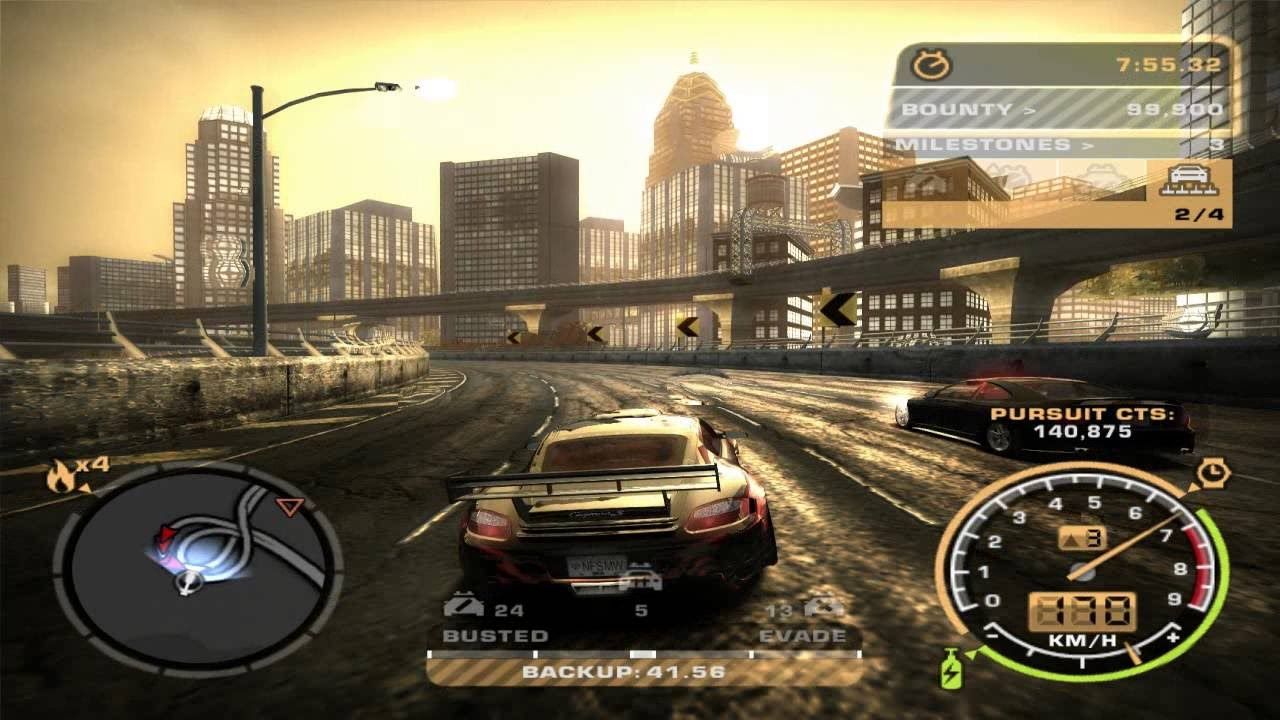 Nfs Most Wanted 2005 Quick Race Youtube