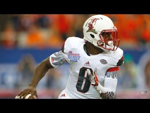 Freshman All-American || Louisville QB Lamar Jackson 2015 Highlights  ᴴᴰ
