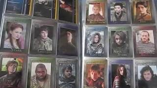 Game of Thrones trading cards