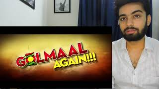 Golmaal Again | Releasing 20th October | Rohit Shetty | Ajay Devgn | REACTION REVIEW