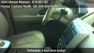 2006 Nissan Murano SL - for sale in Cartersville, GA 30121