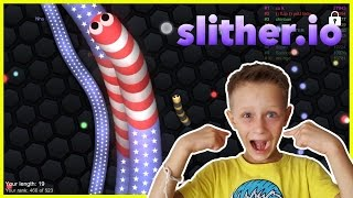 Best Slither.IO Strategy - SPEED TO KILL - playing Slither.io on the phone | Android iOS