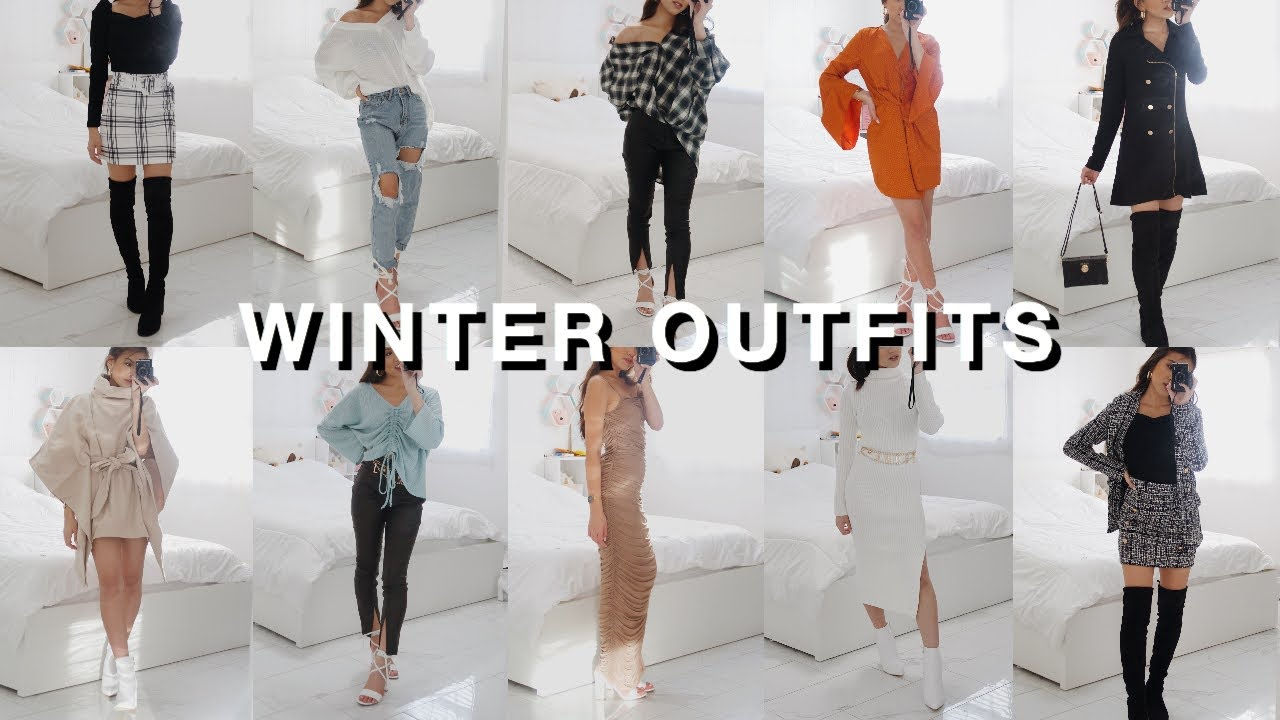 [VIDEO] - WINTER/FALL Outfits (Dressy, Casual looks)  ALL FROM SHEIN 2