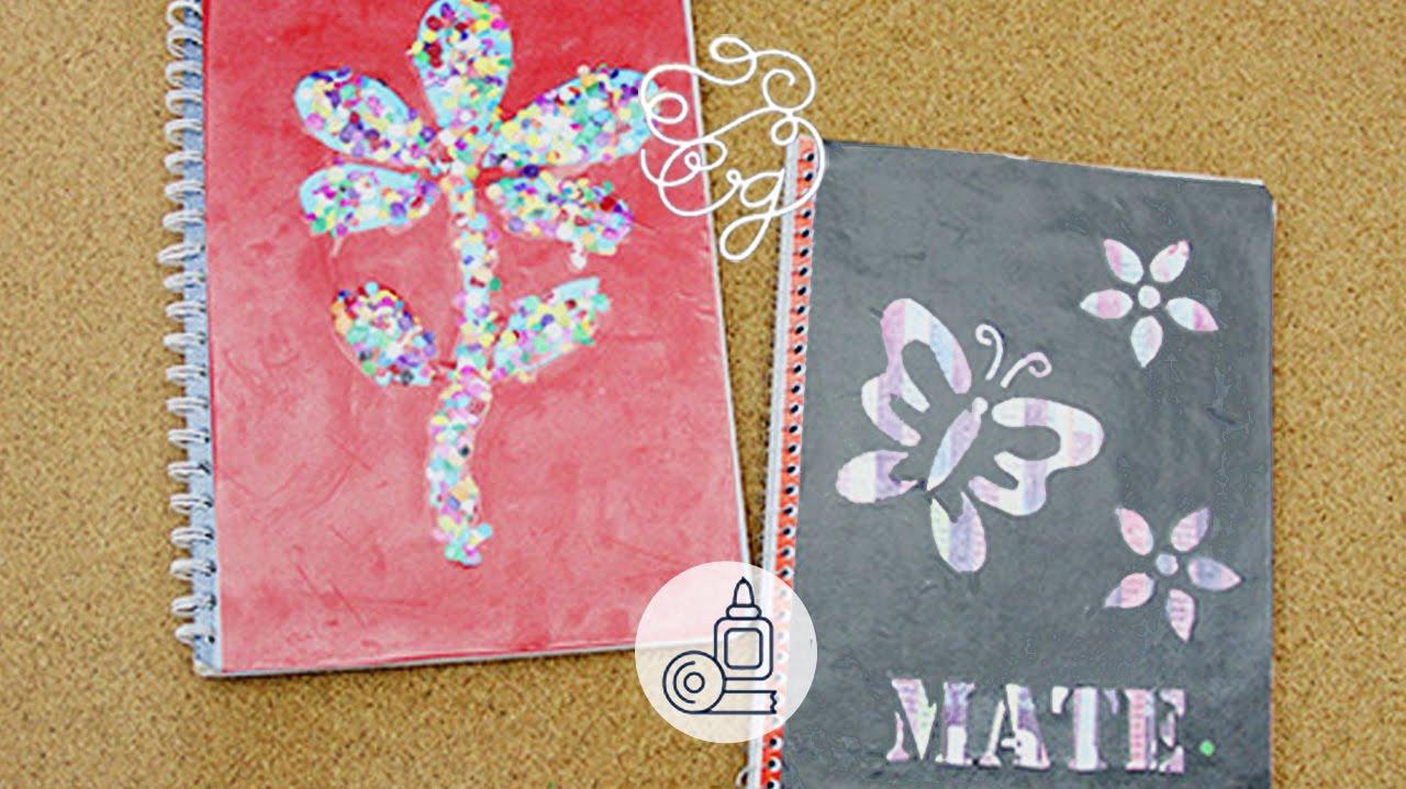 Decoración Linda Para Tus Cuadernos Craftingeek