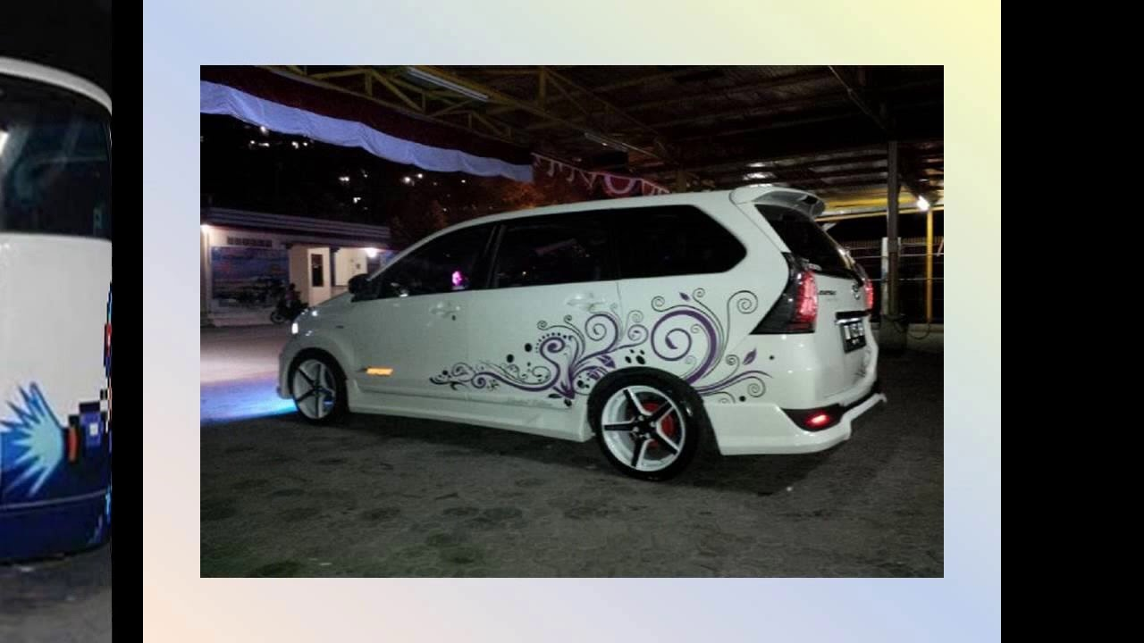 93 Modifikasi Stiker All New Avanza Hitam 2018| Modifikasi ...