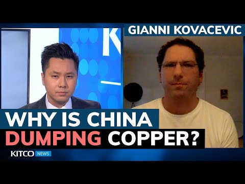Why is China dumping copper and flooding the metals market? Gianni Kovacevic