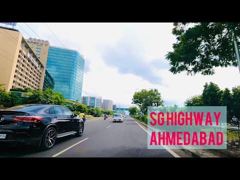 4K Drive | Sarkhej - Gandhinagar Highway | Ahmedabad | Business Hub Gujarat |