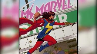 Meet Ms. Marvel - the popular new Muslim superhero