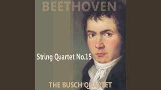 Quartet No. 15 in A Minor, Op. 132: I. Assai Sostenuto - Allegro