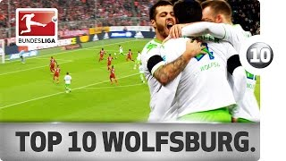 Top 10 Goals - VfL Wolfsburg - 2015/16