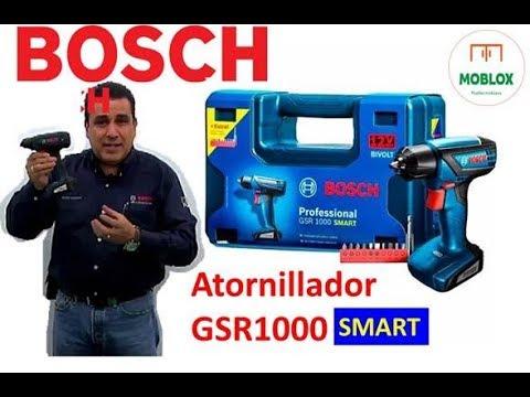 """#80 ATORNILLADOR SMART GSR 1000 BOSCH """"CHIQUITO PERO POTENTE"""""""