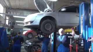 Dizel particulate ta'mirlash VW Passat filtri . SPB-yilda dizel particulate filtri ta'mirlash