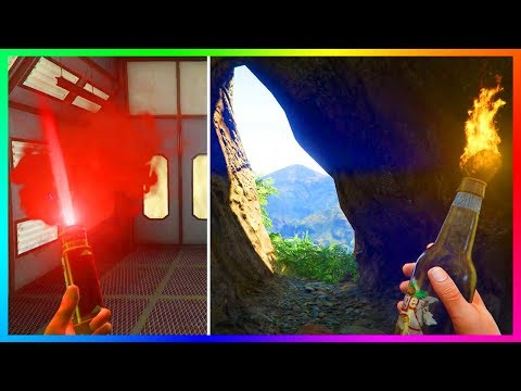 GTA Online - AMAZING Secret Locations & BEST Bounty Hiding Spots You Might Not Know About! (GTA 5)