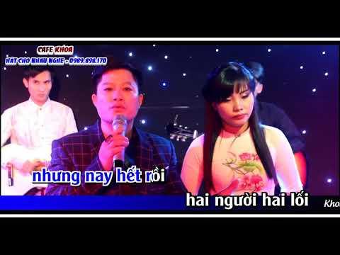 LK KHÔNG BAO GIỜ QUÊN ANH & ĐỪNG NÓI XA NHAU  beat    Trung Kiên & Ánh Nguyệt   karaoke