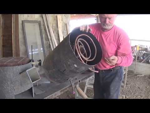 Rocket Stove/Incinerator/Hot Water Heater/Cooktop, Part One