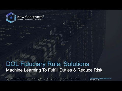 Solving The Biggest Problem w/ the DOL Fiduciary Rule