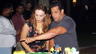 Salman Khan With Iulia Vantur At AHIL's Birthday In Abhi Dhabi, NEW PHOTO Goes Viral