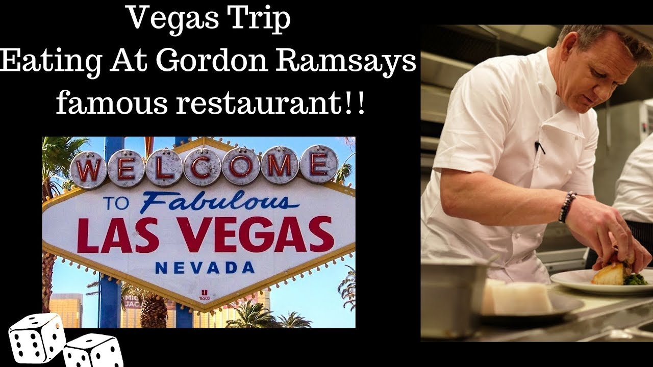 Eating The Most Expensive Steak At Chef Gordon Ramsays Famous Restaurant Vegas Part 1