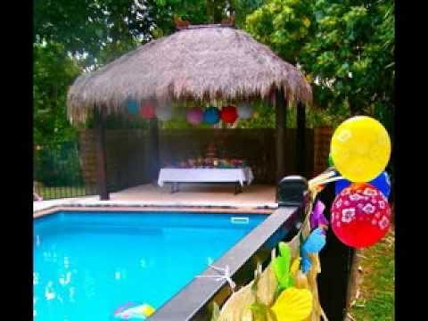 Hotel Pool Party Ideas best theme park splash atlantis Pool Party Decoration Ideas