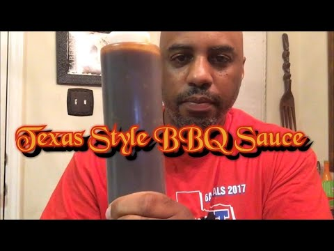 How to make Texas Style BBQ Sauce