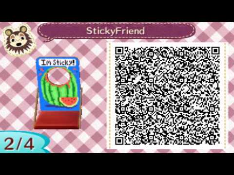 QR Codes | Animal Crossing New Leaf (Cutout Standees Vol. 1)