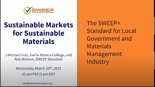Sustainable Markets for Sustainable Materials