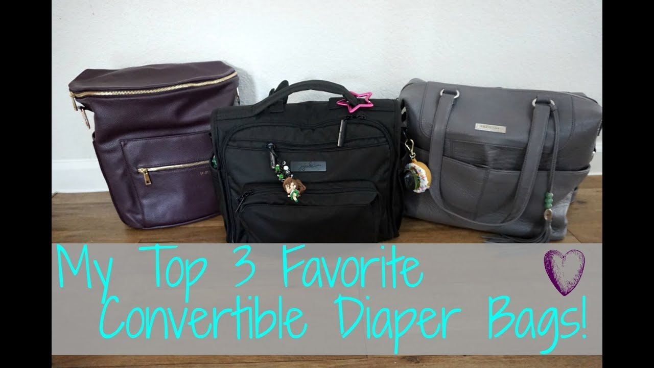 My Top 3 Favorite Convertible Diaper Bags The Best I Have Tried