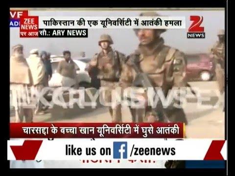 Terrorists attack Bacha Khan University in Pakistan